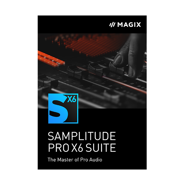 Samplitude Pro X 6 Suite Academic