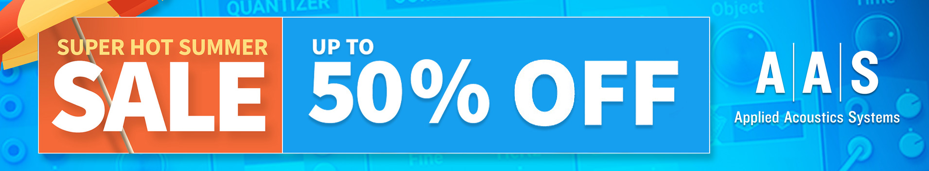 Summer Sale! Up to 50% Off Applied Acoustic Systsems
