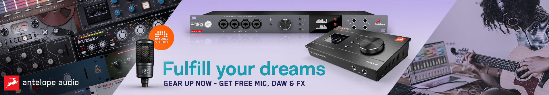 Save Big on Antelope Audio Products!